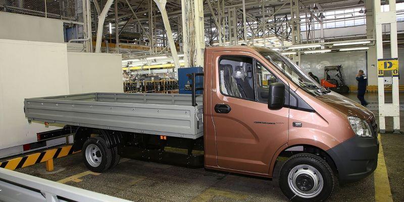 ГАЗ представит огромный грузовик «Газель-Next»