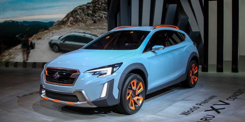 Subaru XV: пока концепт, но шансы есть