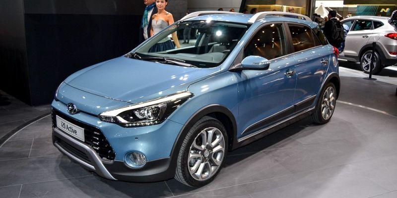 Небольшой хэтчбек Hyundai i20 Active – продемонстрирована версия «внедорожника»