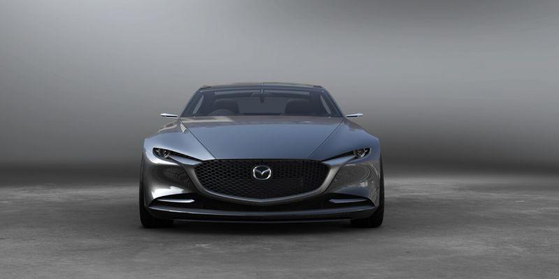Не похож на холодильник. Как будет выглядеть первый электромобиль Mazda?