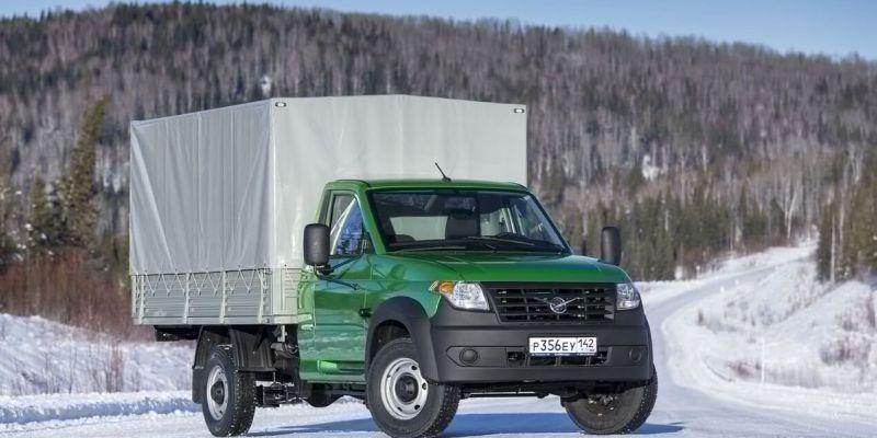 Новые российские грузовички УАЗ Профи 2018