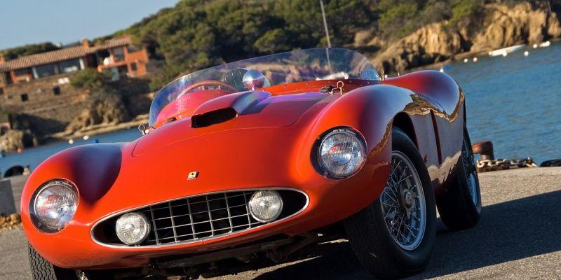 Ferrari 121 LМ Scaglietti Spyder