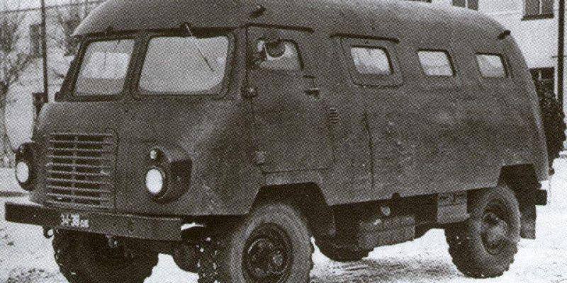 Автобус ядерной войны или причуды советских конструкторов