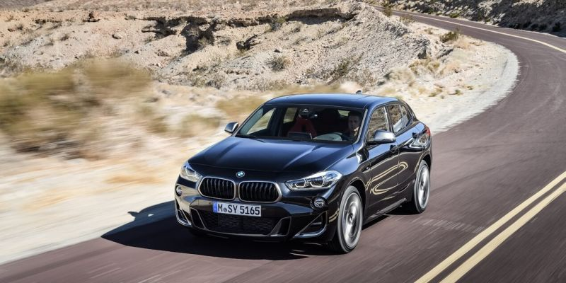 Баварская рапсодия 2018: мощный и атлетичный BMW X2