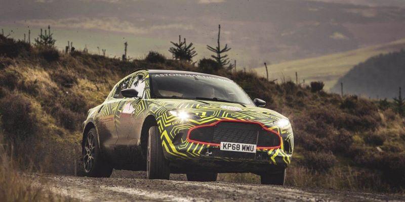 Первый кроссовер Aston Martin прошел успешные испытания