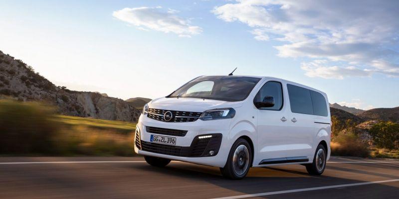 «Зефирный» минивэн Zafira Life от Opel