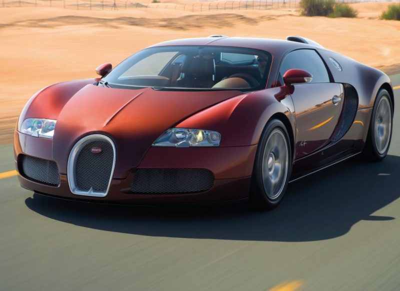 Авто Bugatti Veyron