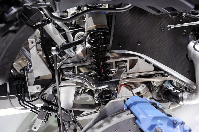 Bugatti Veyron подвеска