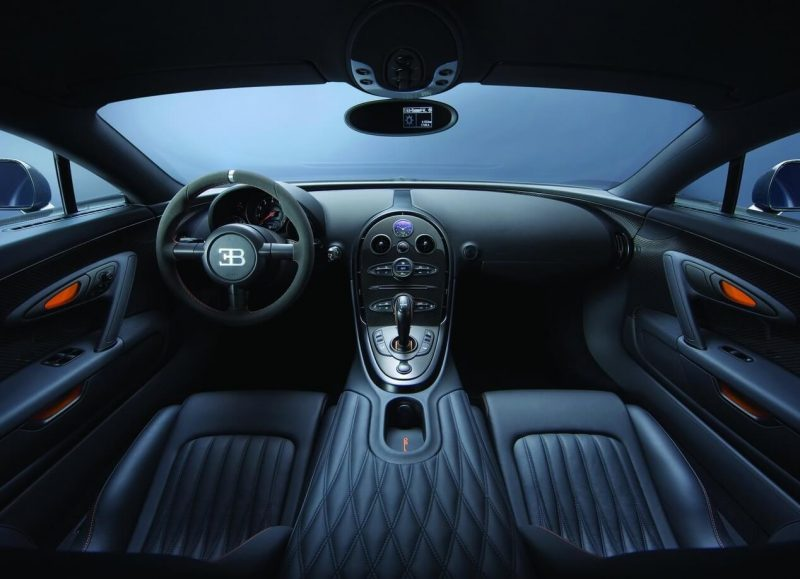Bugatti Veyron Super Sport салон