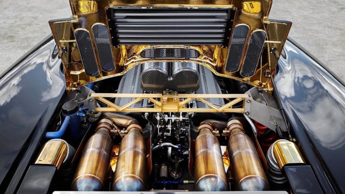Двигатель McLaren F1