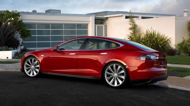 Tesla Model S фото авто
