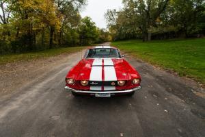 Вид спереди Shelby Mustang GT500