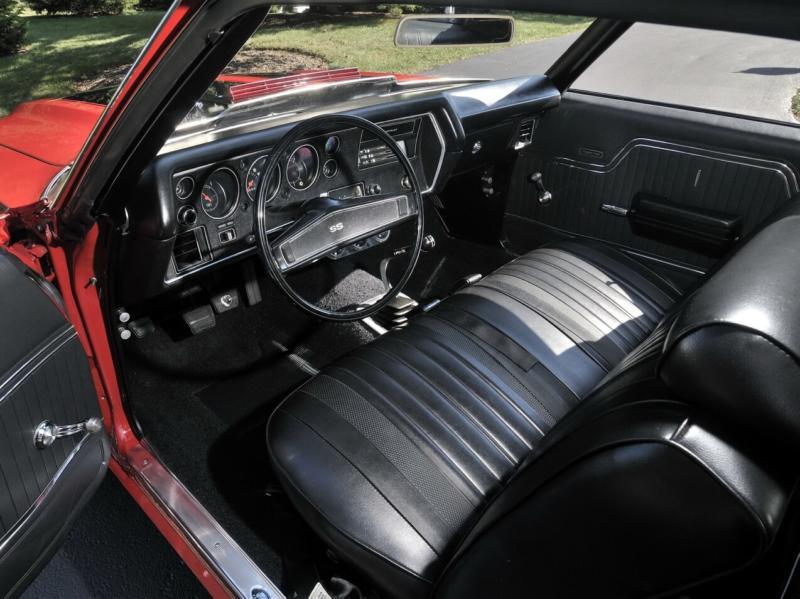Интерьер Chevrolet Chevelle SS