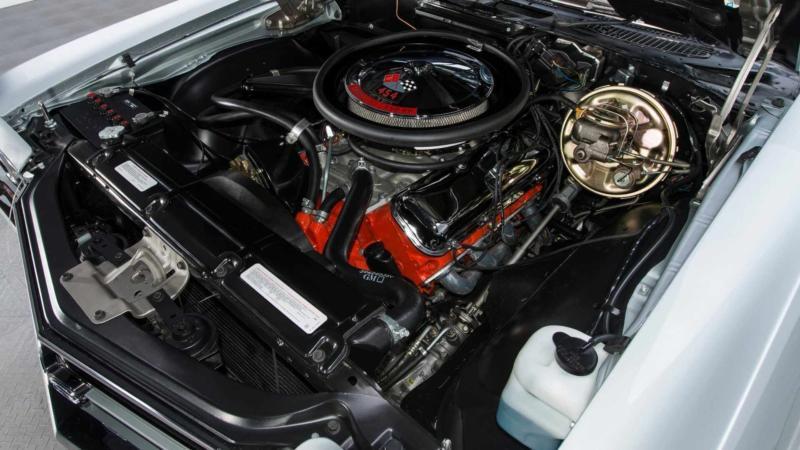 Двигатель Chevrolet Chevelle SS