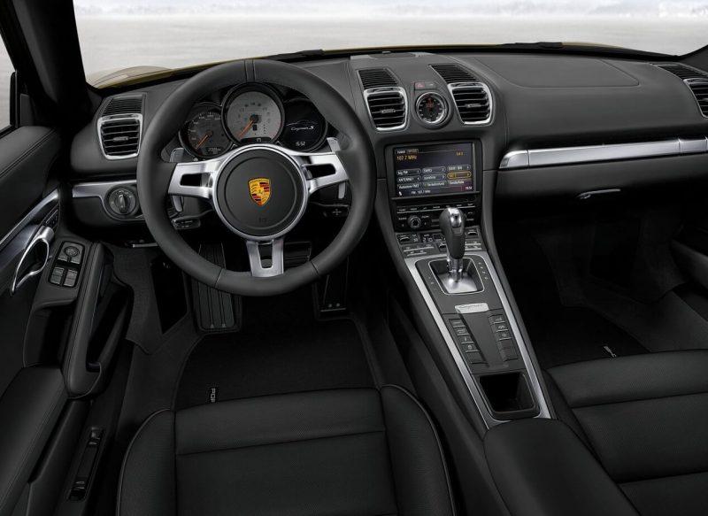 Porsche Cayman интерьер