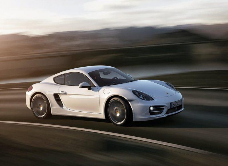 Porsche Cayman спорткар