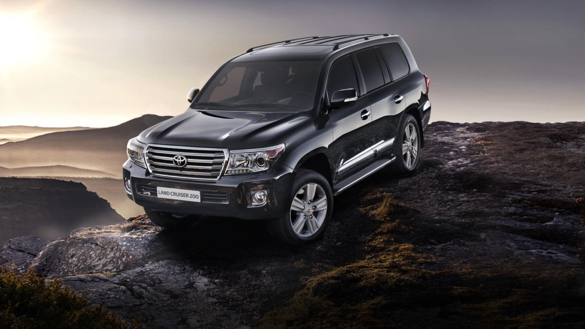 Фото авто Toyota Land Cruiser 200