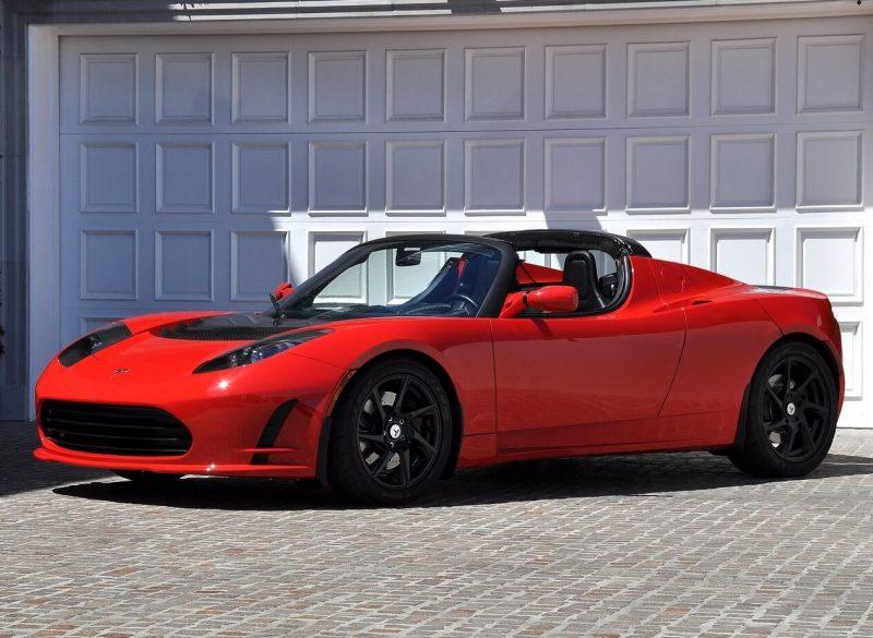 Фото авто Tesla Roadster