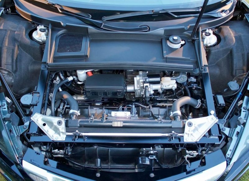Acura NSX двигатель