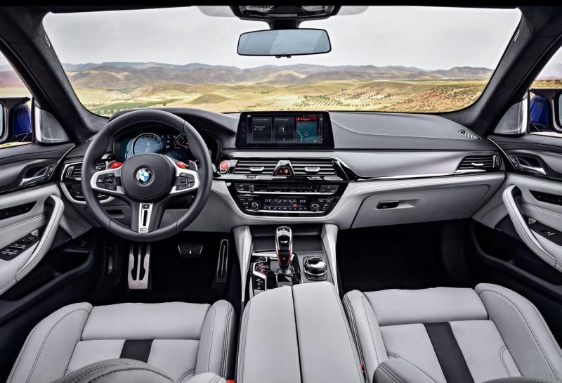 Интерьер BMW M5 (F90)