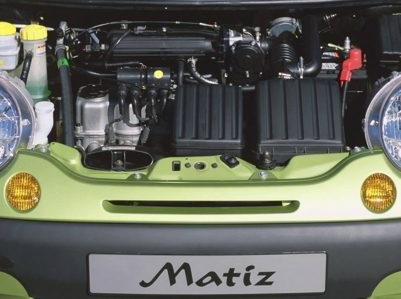 Daewoo Matiz двигатель