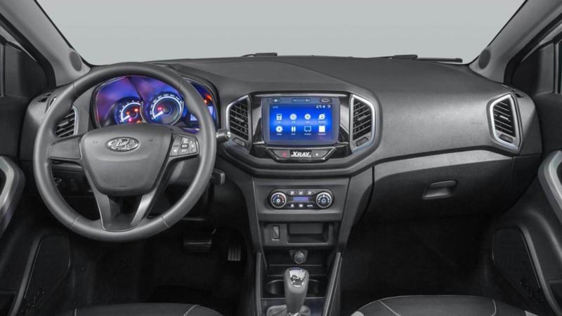 Interior Lada XRay