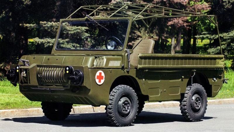 Автомобиль ЛуАЗ-969