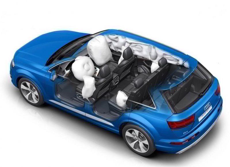 Audi Q7 подушки безопасности