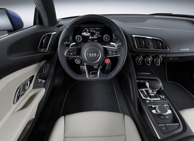 Audi R8 интерьер