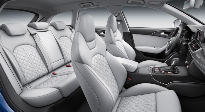 Салон Audi S6
