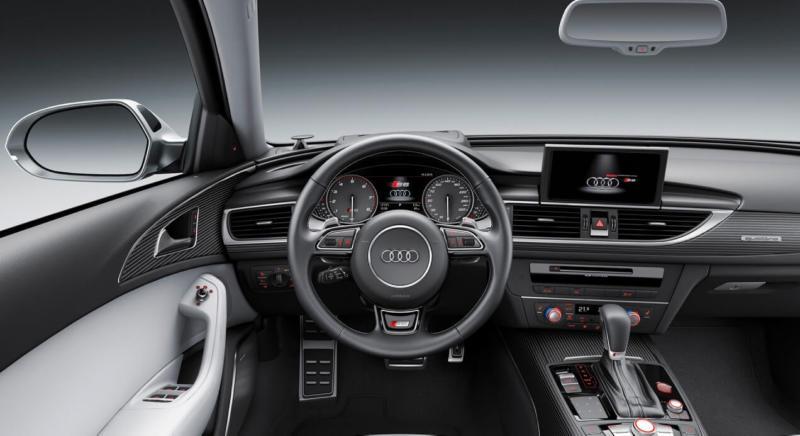 Интерьер Audi S6