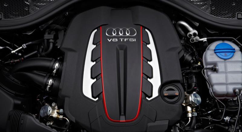 Двигатель Audi S6