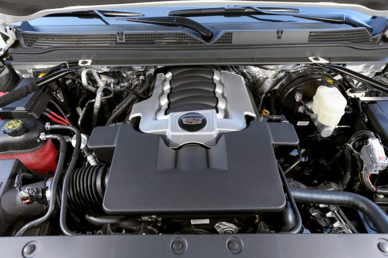 Двигатель Cadillac Escalade