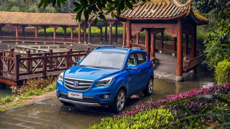 Changan CS35 фото авто