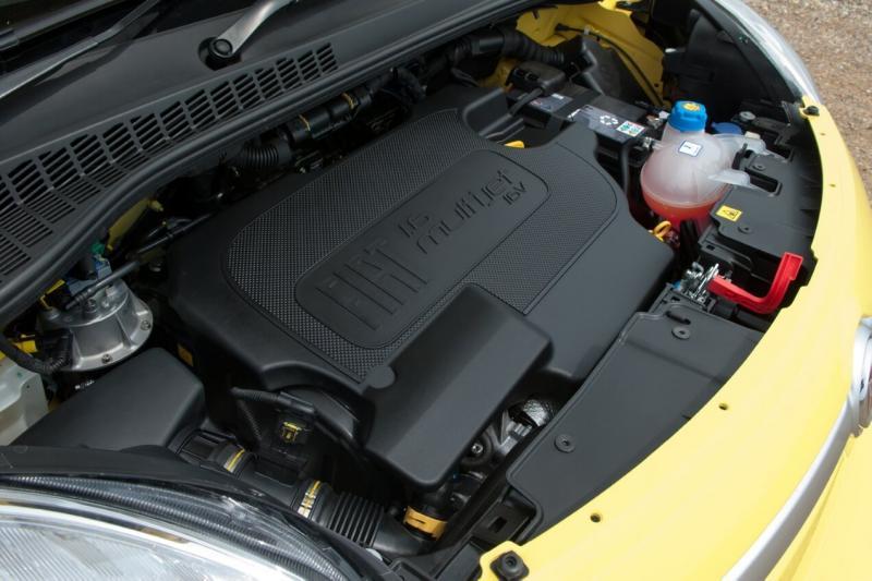 Fiat 500L двигатель