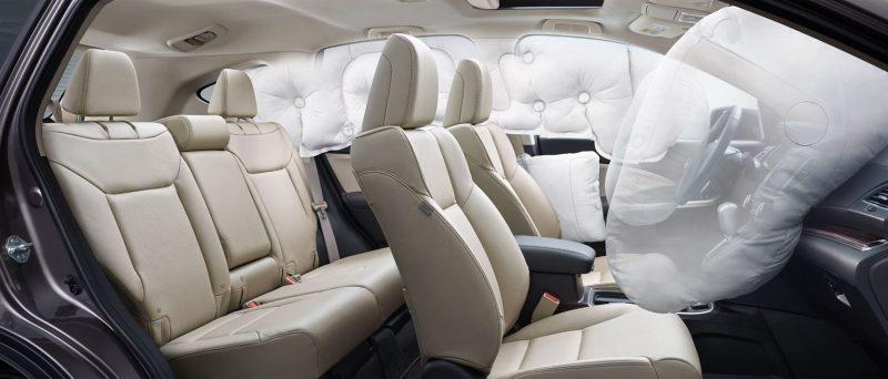 Honda CR-V подушки безопасности