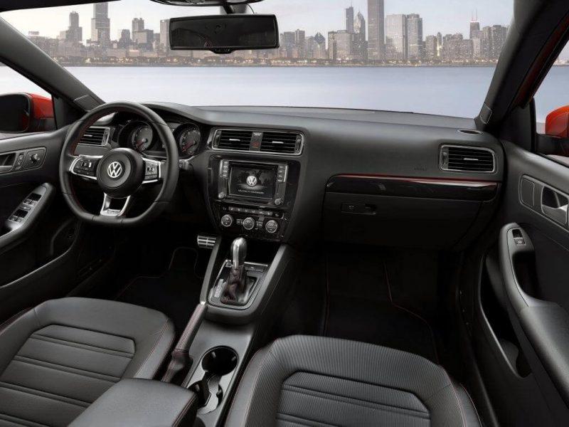 Volkswagen Jetta 6 салон