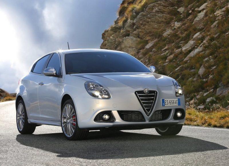 Обновленный Alfa Romeo Giulietta