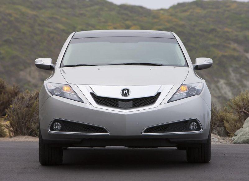 Вид спереди Acura ZDX