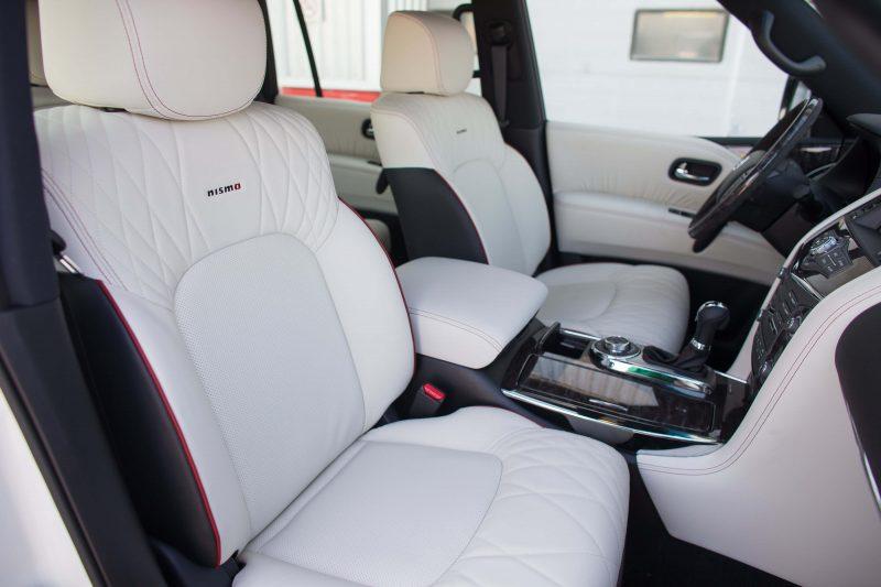 Nissan Patrol передние кресла