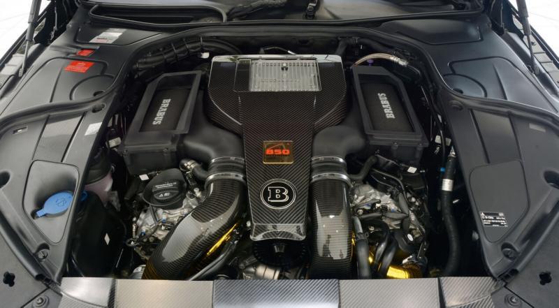Двигатель Brabus 850 6.0 Biturbo Coupe