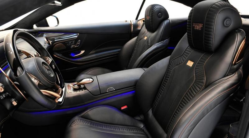 Салон Brabus 850 6.0 Biturbo Coupe