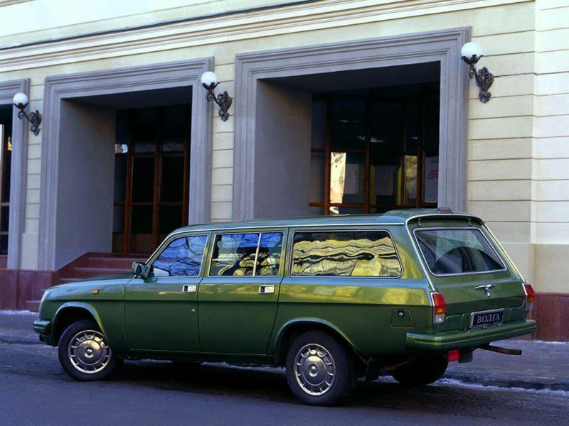 Фото универсала ГАЗ-3110