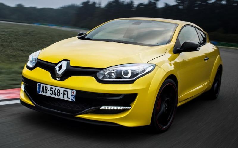 Вид спереди Renault Megane R.S