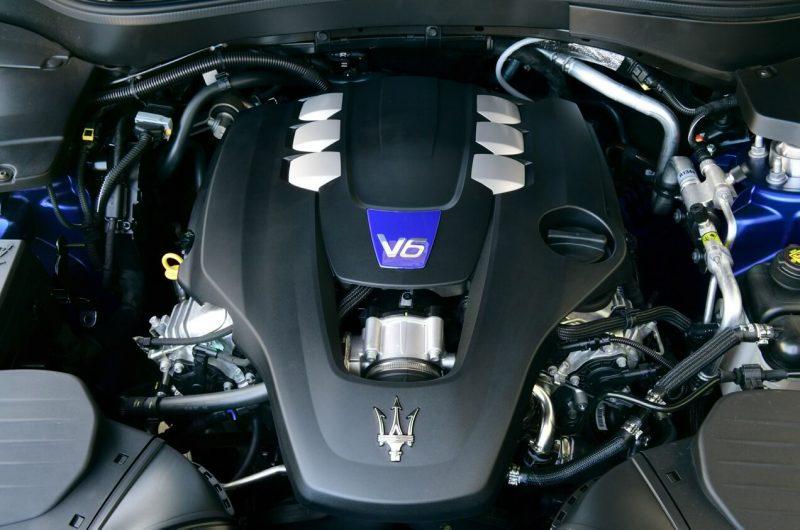 Maserati Levante двигатель