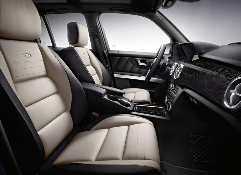 Mercedes-Benz GLK салон