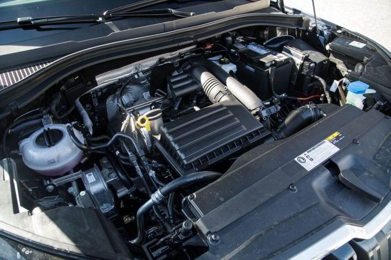 Skoda Kodiak двигатель