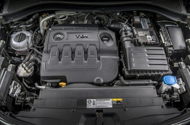 Skoda Kodiaq дизельный двигатель