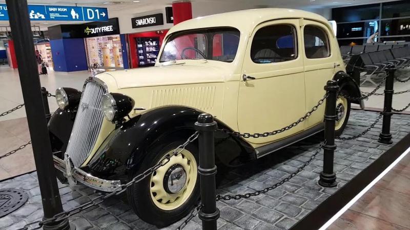 Фото авто Skoda Rapid 1935 года