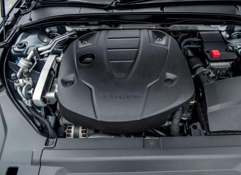 Фото двигатель Volvo S90